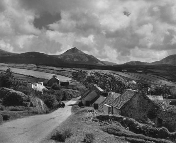 Irish Landscape Photograph - Donegal Village by Noel Hapgood