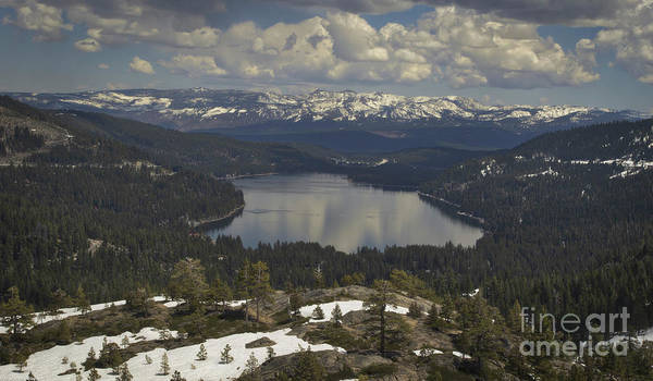 Donner Photograph - Donner Lake Spring by Mitch Shindelbower
