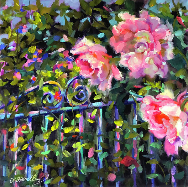 Wall Art - Painting - Don't Fence Me In by Chris Brandley