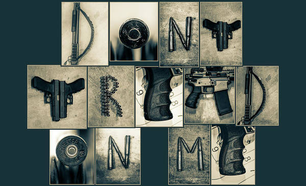 Wall Art - Photograph - Don't Tread On Me by Marnie Patchett
