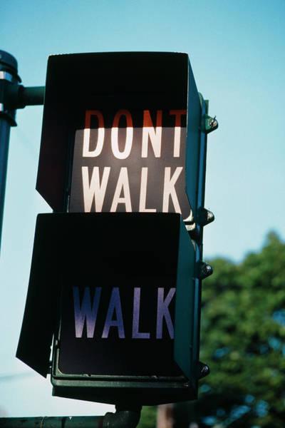 Photograph - Dont Walk by Alfred Gescheidt