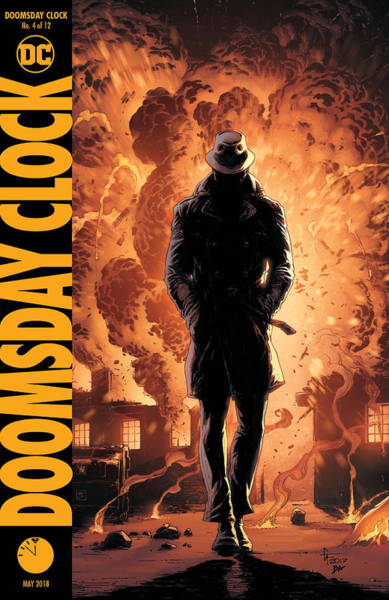Wall Art - Digital Art - Doomsday Clock 4  Dc by Geek N Rock
