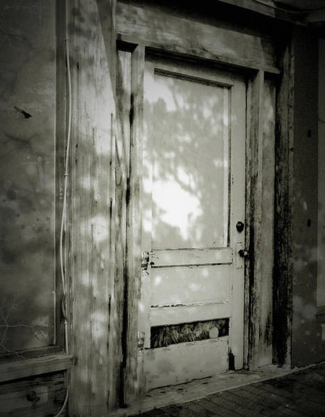 Photograph - Door #1 by Perry Correll