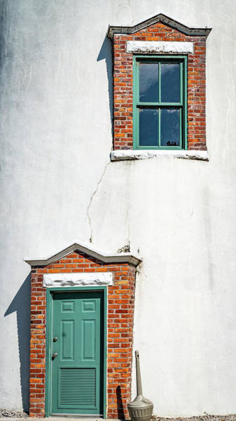 Photograph - Door And Window by Framing Places