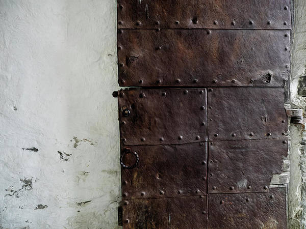 Photograph - Door At Kristiansten Fortress In Trondheim, Norway by Whitney Leigh Carlson