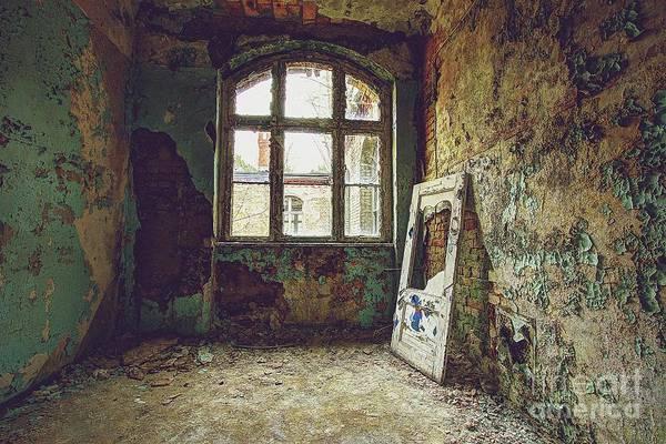 Wall Art - Photograph - Door By The Window by Nawid Sahebzadeh