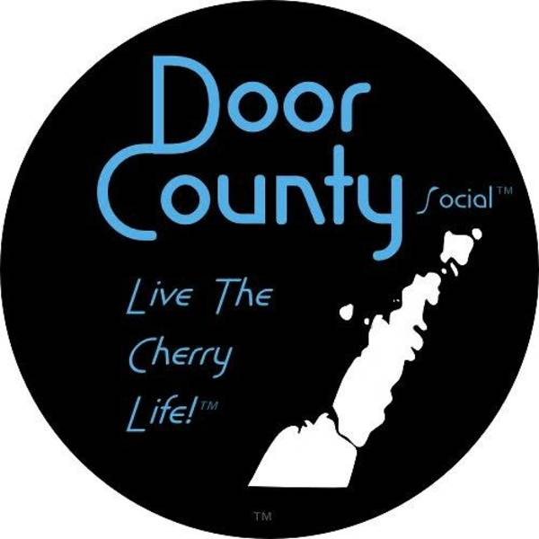 Digital Art - Door County Icon by Door County Social