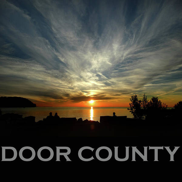 Photograph - Door County - Sister Bay Sunset by David T Wilkinson