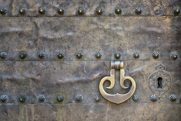 Photograph - Door Detail Cordoba Spain by Joan Carroll