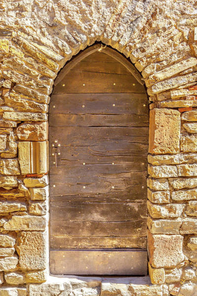 Wall Art - Photograph - Door In Cordes-sur-ceil by W Chris Fooshee