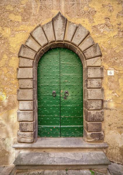 Photograph - Door Six Of Cortona by David Letts