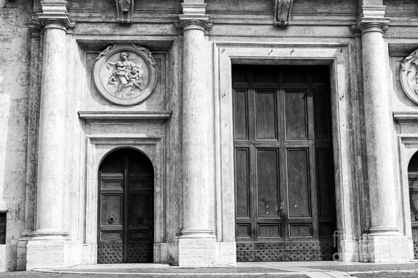 Photograph - Door Sizes In Roma by John Rizzuto