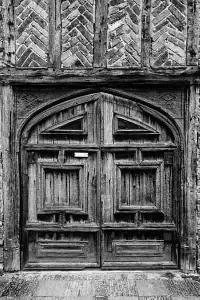 Photograph - Door To A Black And White Past by Chris Buff