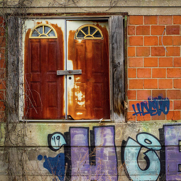 Photograph - Doors And Graffiti by Tom Romeo
