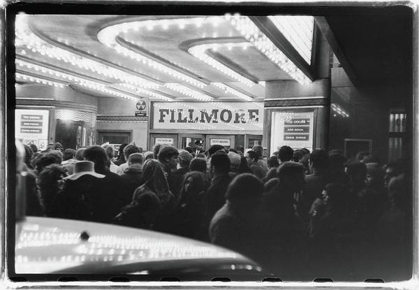 Concert Hall Photograph - Doors Fans At The Fillmore East by Fred W. McDarrah