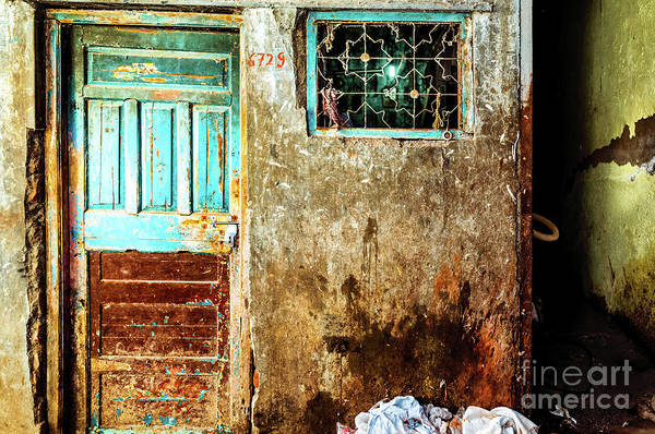 Photograph - Doors Of India - Door 6729 by Miles Whittingham