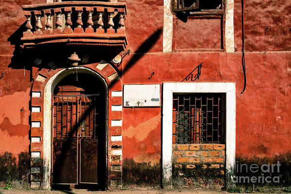 Photograph - Doors Of India - Old Trader Door by Miles Whittingham