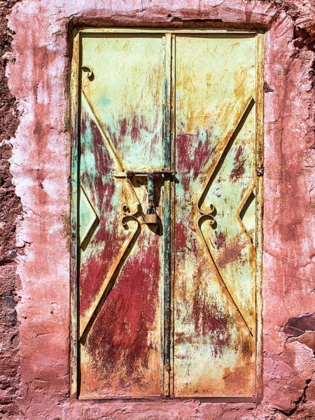 Wall Art - Photograph - Doorway At Telouet Kasbah by Dominic Piperata