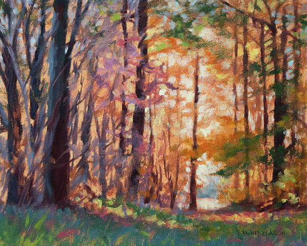 Wall Art - Painting - Doorway - Enchanted Woods by Bonnie Mason