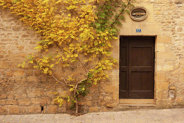 Photograph - Doorway, Sarlat, France by Mark Shoolery