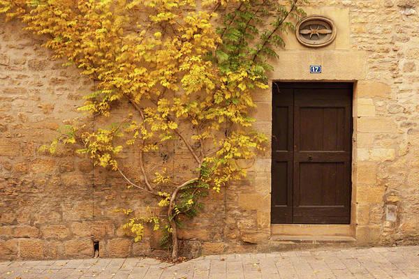 Doorway, Sarlat, France Art Print