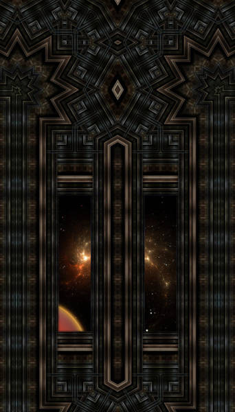Digital Art - Doorway To Eternity by Xzendor7