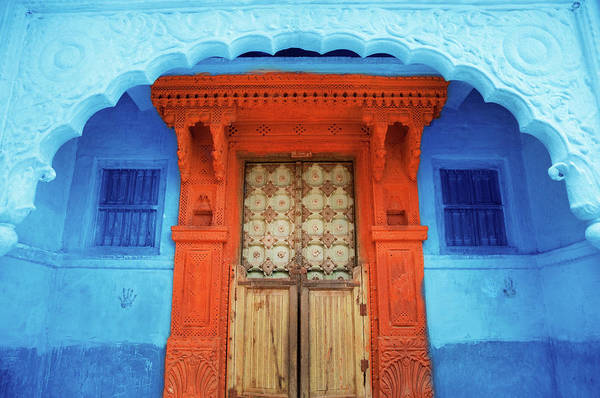 Hindu Photograph - Doorway To Temple by Grant Faint