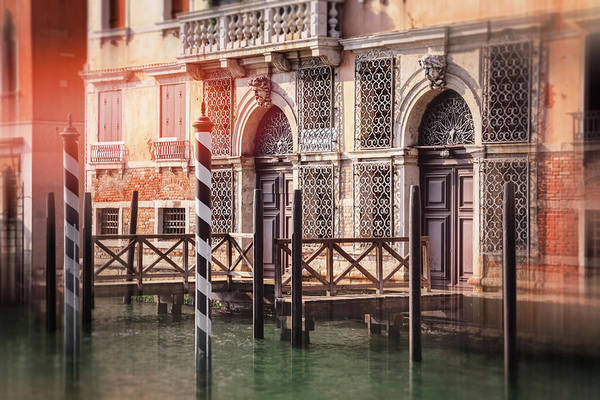 Italia Photograph - Doorways Of The Grand Canal Venice Italy  by Carol Japp