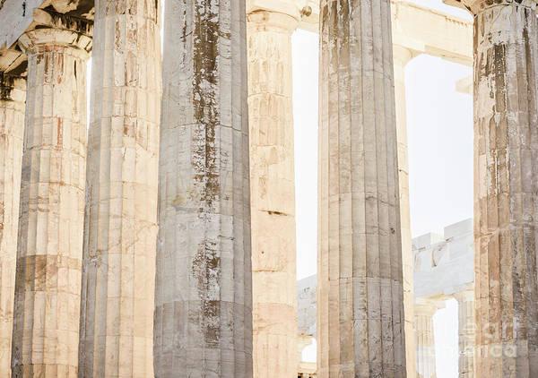 Wall Art - Photograph - Doric Columns Of The Parthenon by Jason Knott