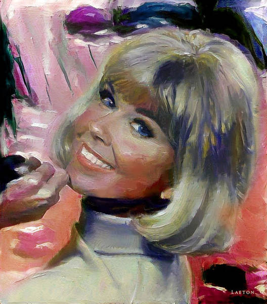 Digital Art - Doris Day by Richard Laeton