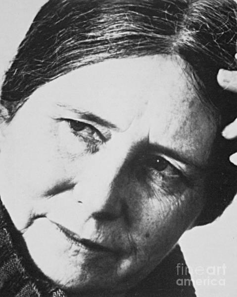 Photograph - Doris May Lessing by Granger