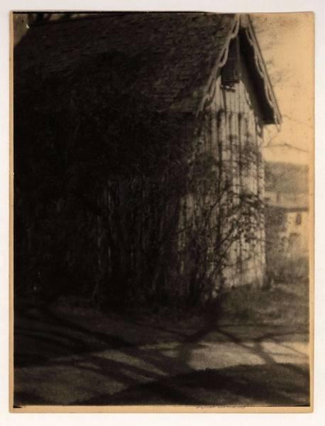 Wall Art - Painting - Doris Ulmann   1882-1934 , Churchill Weavers  Illegible  Berea Ky. Building With Small, Shuttered Wi by Doris Ulmann