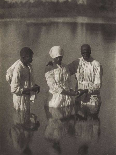 Wall Art - Painting - Doris Ulmann  1882-1934, Baptism by Doris Ulmann