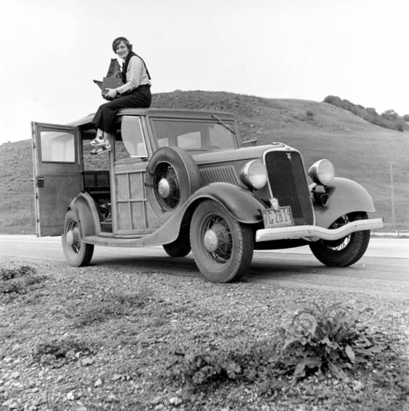 Wall Art - Photograph - Dorothea Lange, American Photographer by Science Source