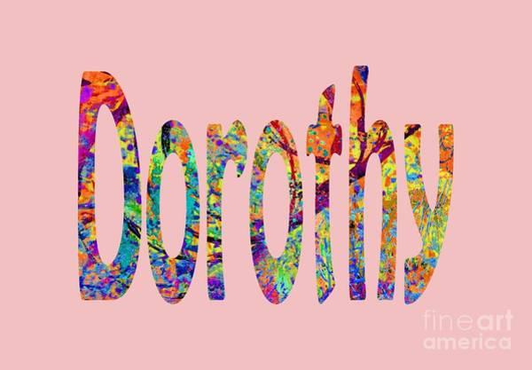 Digital Art - Dorothy by Corinne Carroll