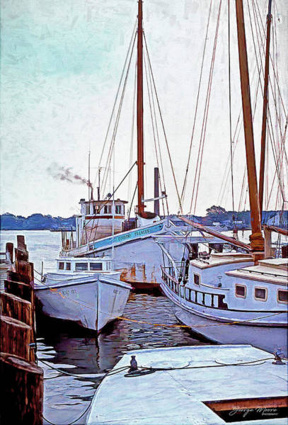 Wall Art - Photograph - Dorothy Frances Buyboat by George Moore