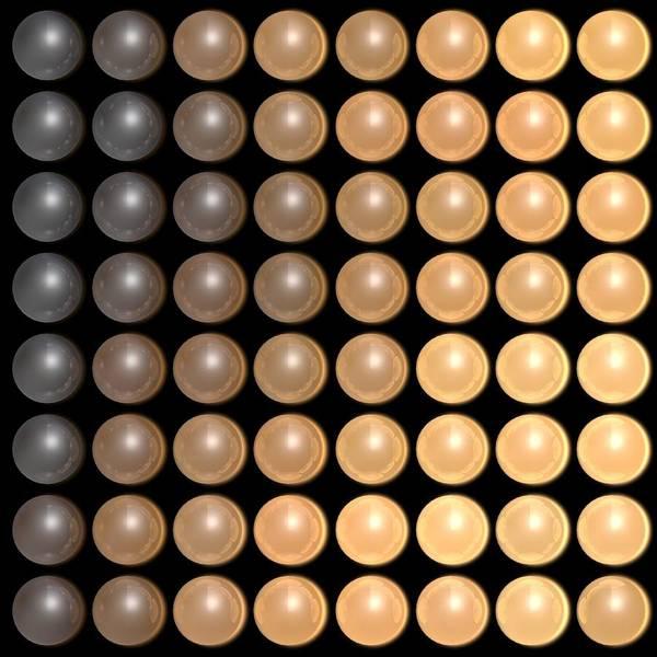 Wall Art - Digital Art - Dots B1 by James Barnes