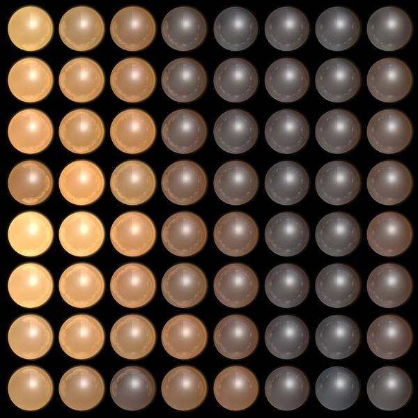Wall Art - Digital Art - Dots B2 by James Barnes