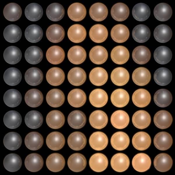 Wall Art - Digital Art - Dots C2 by James Barnes
