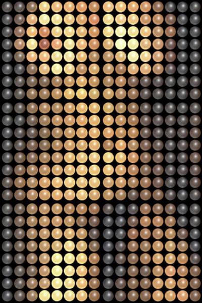 Wall Art - Digital Art - Dots Full by James Barnes