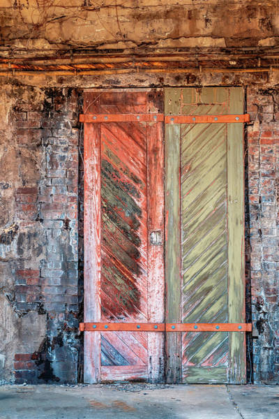 Photograph - Double Bunker Doors At Sandy Hook by Gary Slawsky