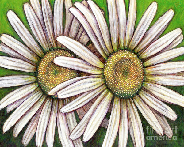 Painting - Double Daisy by Amy E Fraser