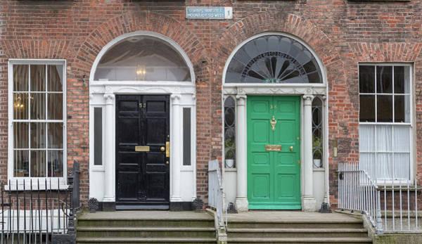 Photograph - Double Door Dublin  by Georgia Fowler