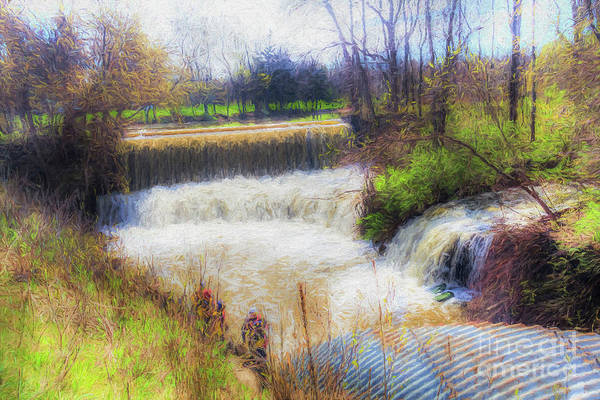 Photograph - Double Falls by Jim Lepard
