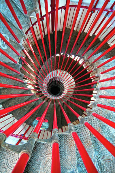 Ljubljana Wall Art - Photograph - Double Helix Staircase In Ljubljana by Sebastian Condrea