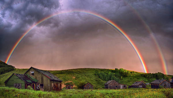 Wall Art - Photograph - Double Rainbow Rebirth by Dave Dilli