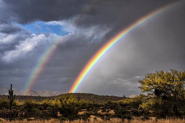 Wall Art - Photograph - Double The Rainbow  by Saija Lehtonen