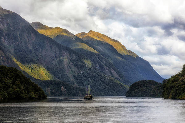 Te Waipounamu Wall Art - Photograph - Doubtful Sound - New Zealand by Joana Kruse