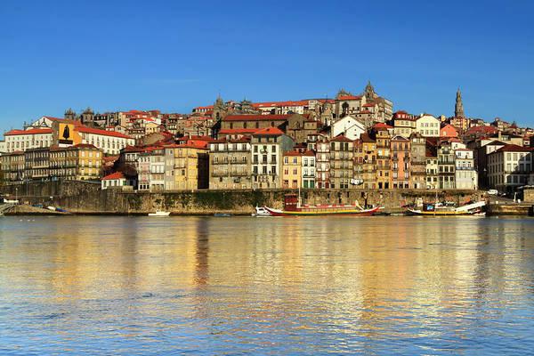 Douro Wall Art - Photograph - Douro River In Oporto by Aroxo