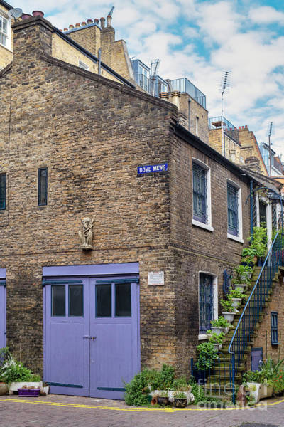 Photograph - Dove Mews London by Tim Gainey